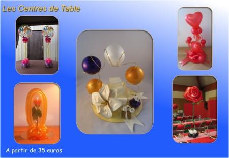 Centres de table pour la décoration de salle, Mariage, Séminaire, Conférence, Lancement de produit, Journée portes ouvertes, Soirées et fêtes privées en Ile de France et Seine et Marne.
