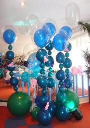 Déco Ballons - Evénement professionnel - Thème de l'eau