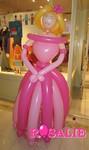 Sculpture sur ballons - Princesse