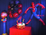 Sculpture sur ballons - Spiderman