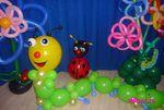 Sculpture sur ballons - Spectacle ballons La Ferme du Paradis par Rosalie Sculpteur sur ballons Ile de France et Seine et Marne - toute la france
