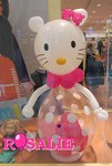 Sculpture sur ballons - Hello Kitty - déco magasin