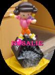 Sculpture sur ballons - Dora - déco magasin