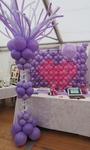 Mur de ballons - salon mariage Rebais